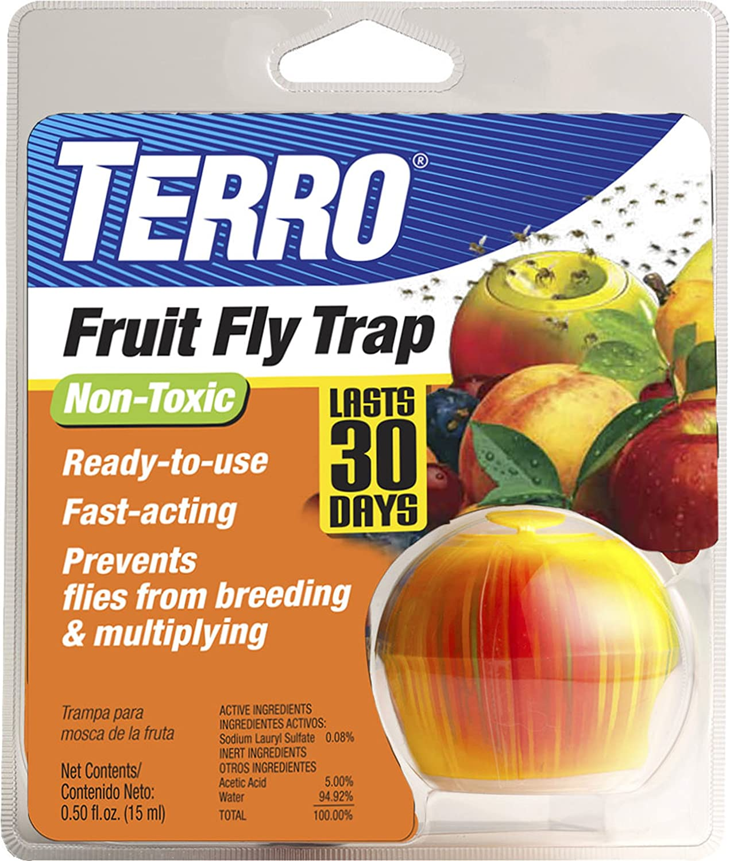 Amazon Com Terro Fruit Fly Trap T2500 Home Pest Control Traps Garden Outdoor