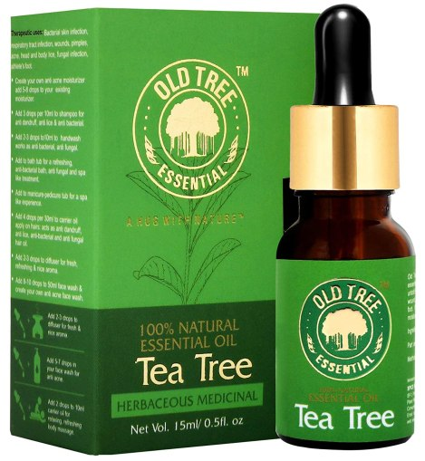 Buy Old Tree Tea Tree Essential Oil For Skin, Hair And Acne Care 15 Ml Online at Low Prices in India - Amazon.in