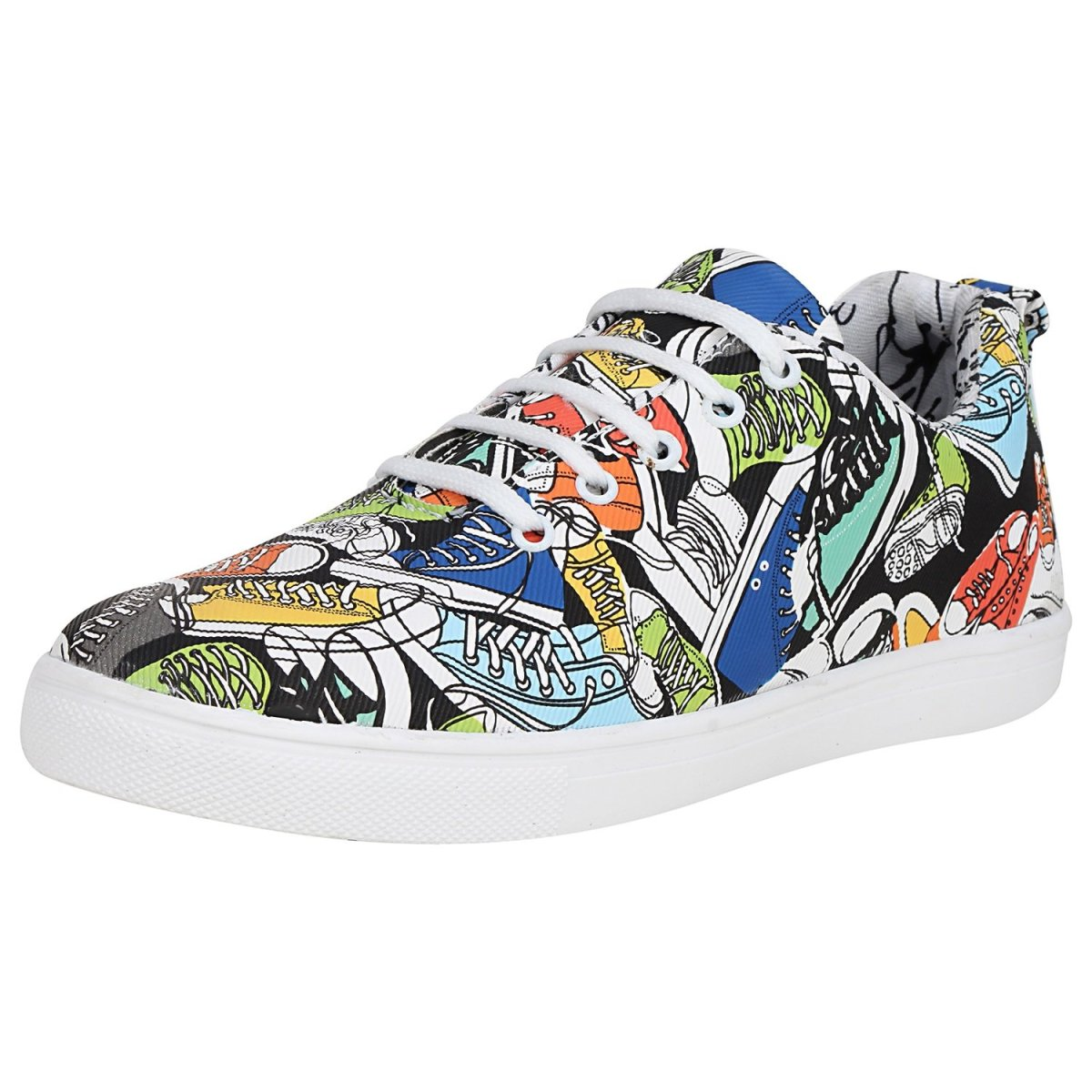 Kraasa Printed Casual Sneakers