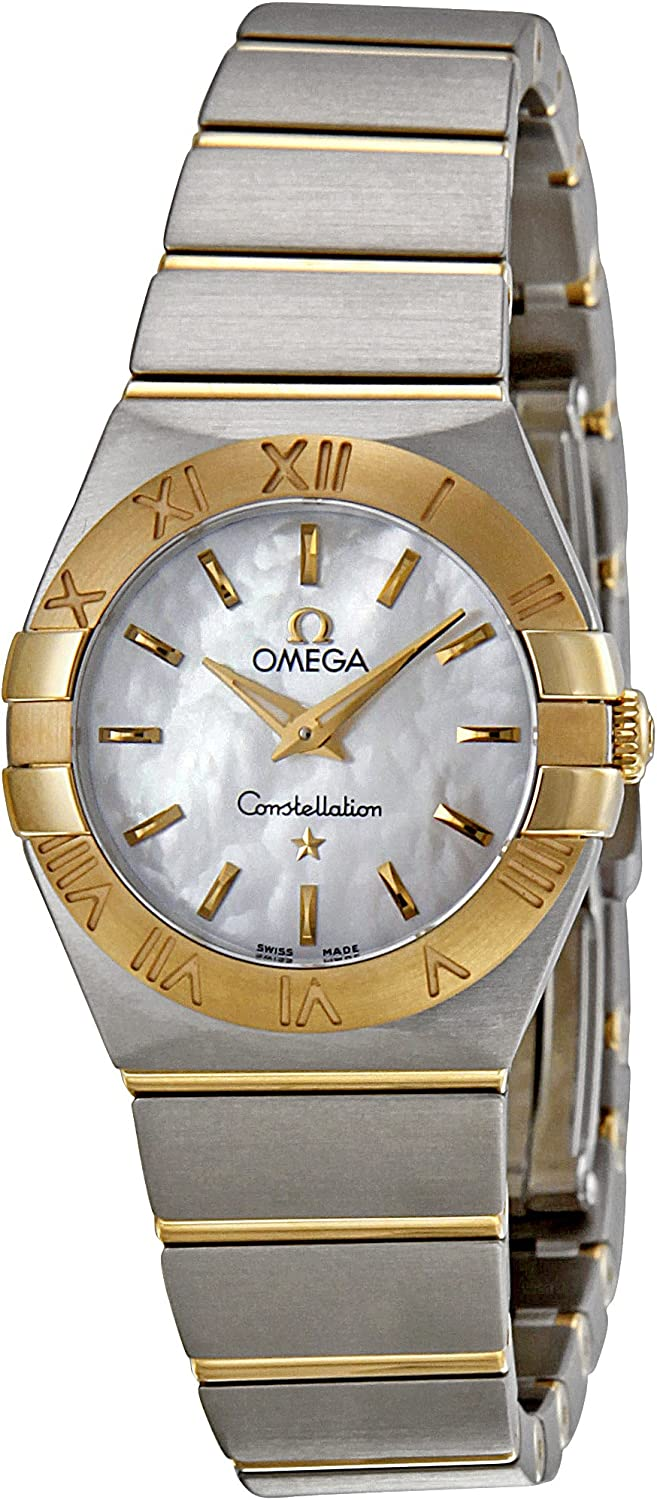 Omega Women's 123.20.24.60.05.002 Constellation Mother-Of-Pearl Dial Watch
