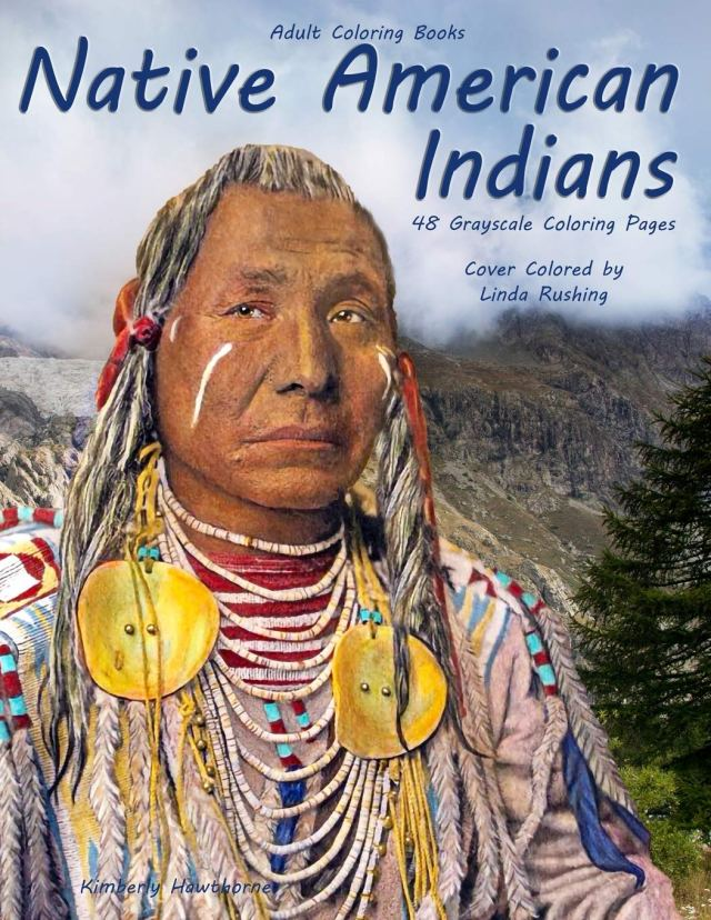 Amazon.com: Adult Coloring Books Native American Indians: Life
