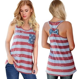 This is one of the best cute fourth of July outfits!