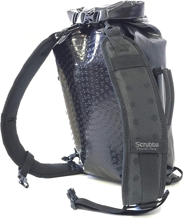 Amazon.com : Scrubba Stealth Pack - Multifunctional Backpack - Weatherproof  Backpack, Portable Washing Machine, Compression Dry Bag and Camping Shower  All in One : Sports & Outdoors
