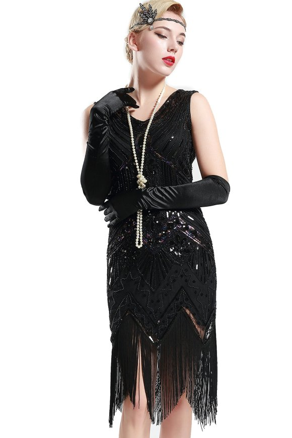 Roaring 20s Style Dress: Amazon.com