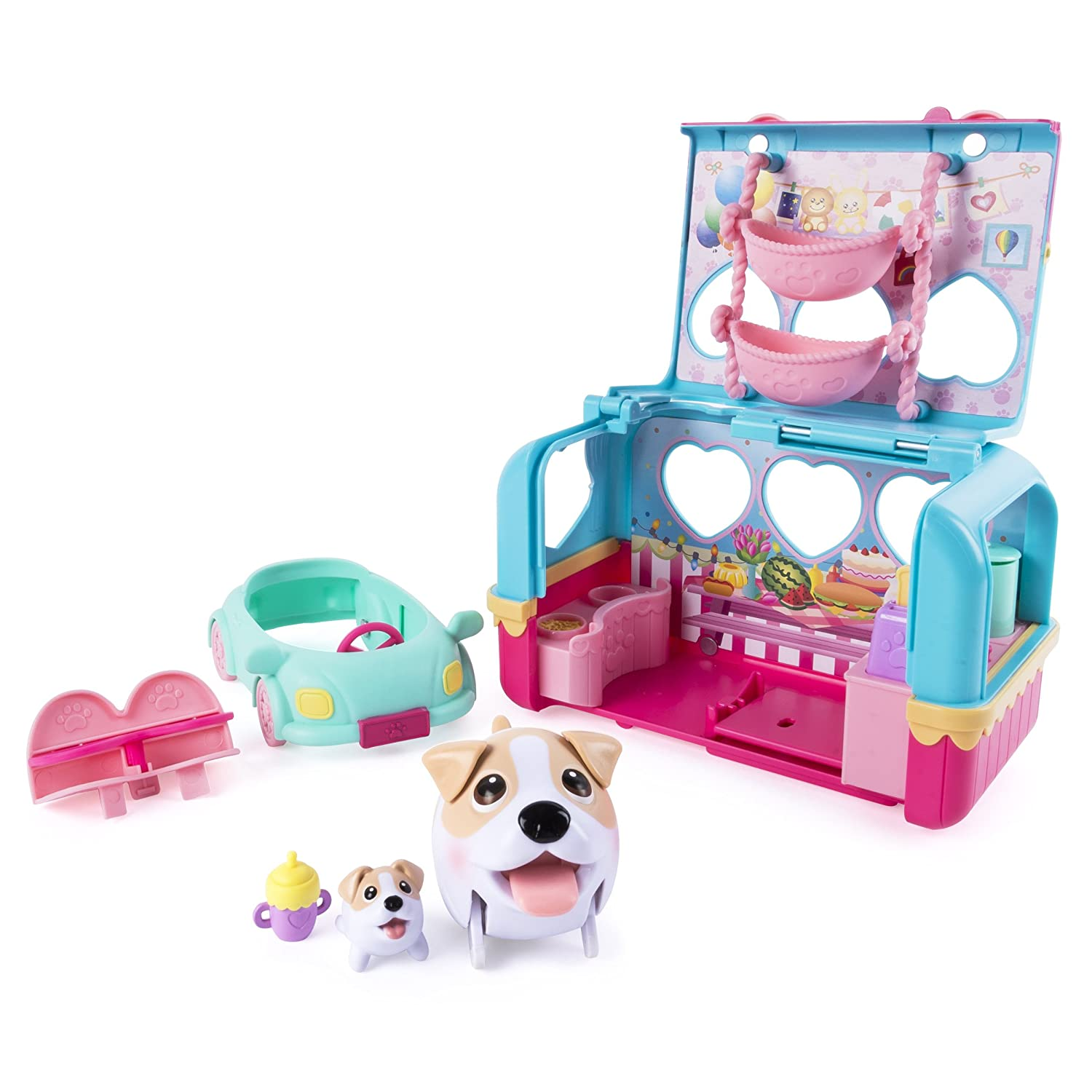 Chubby Puppies  Camper Playset