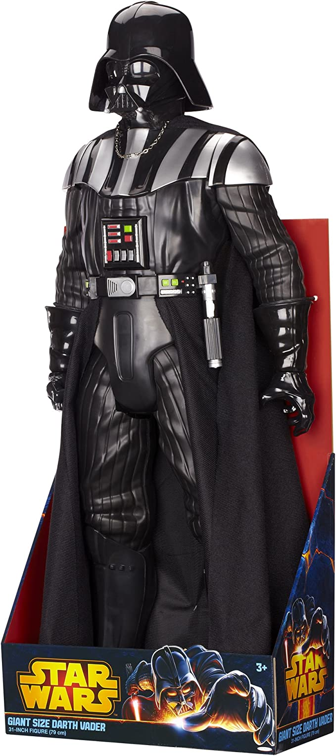 Amazon Com Star Wars 31 My Size Darth Vader Action Figure Toys Games