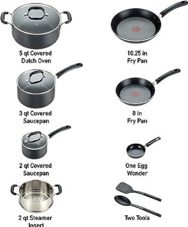 tainless-Steel-Piece-Cookware-Set
