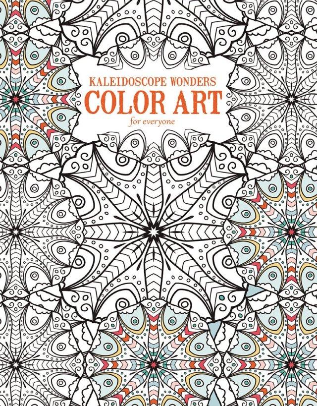 Kaleidoscope Wonders: Color Art for Everyone-25 Kaleidoscope