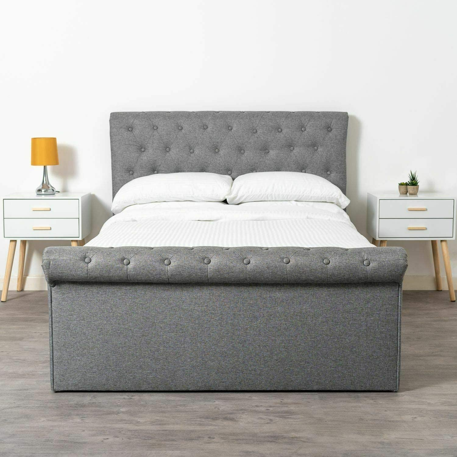 Home Treats Winfield Ottoman Bed Frame The Side Lift Up Storage Bed Available In Small Double Double King Size King Size Amazon Co Uk Kitchen Home