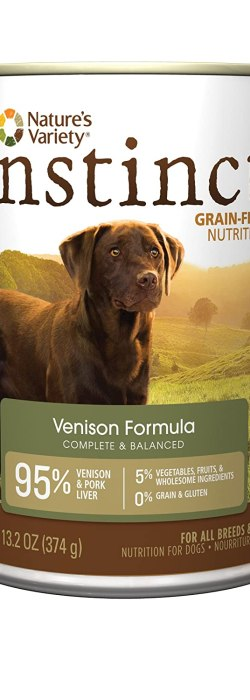 Instinct Original Grain Free Recipe Natural Wet Canned Dog Food by Nature's Variety