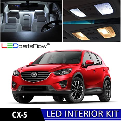 Ledpartsnow 2017 Mazda Cx 5 Led Interior Lights Accessories Replacement Package Kit