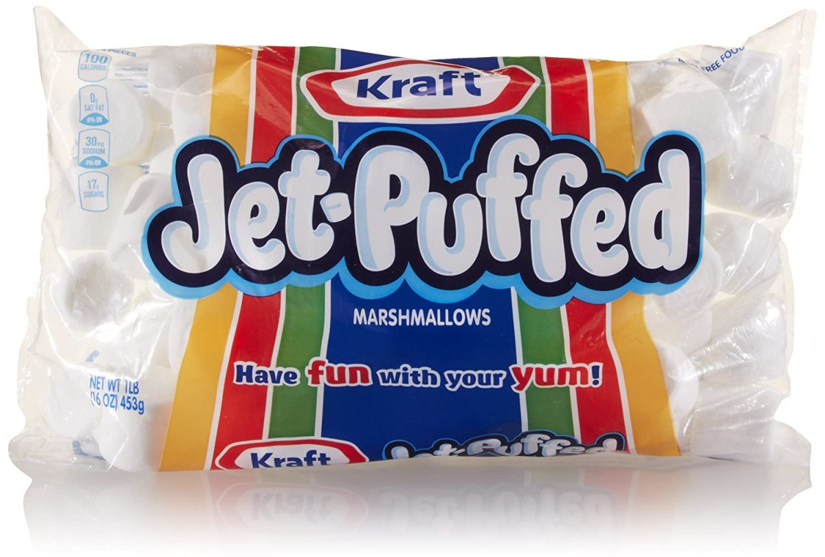 Jet-Puffed Marshmallows, 16 Ounce Bag