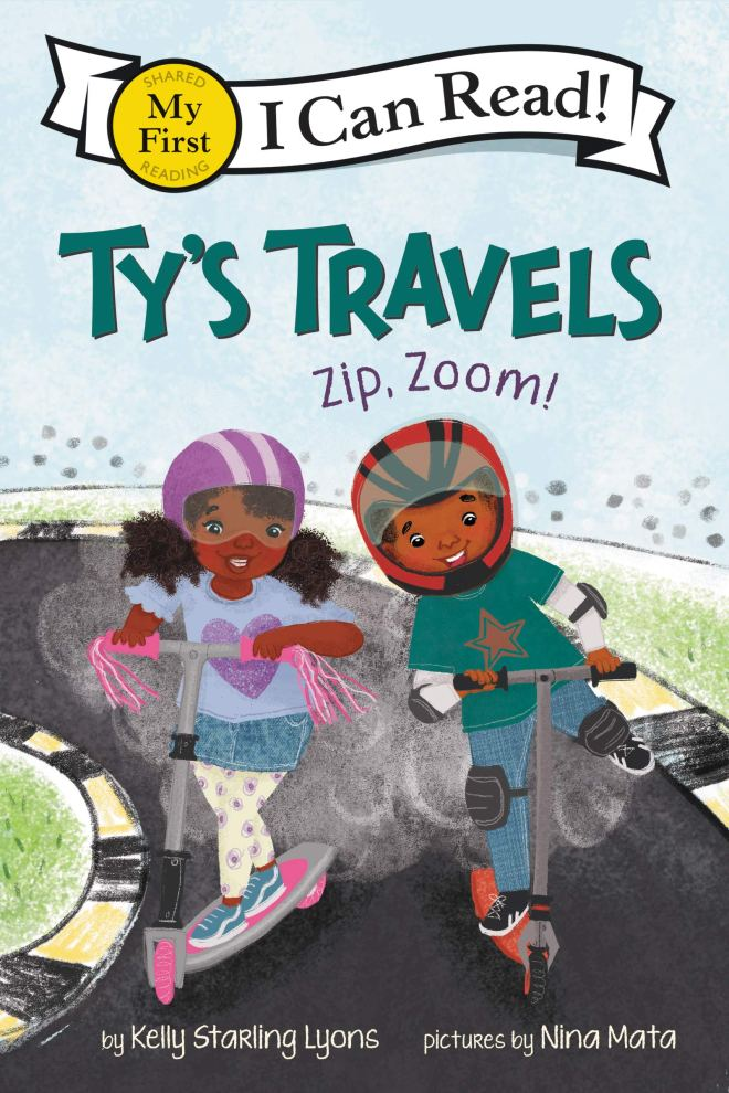 Amazon.com: Ty's Travels: Zip, Zoom! (My First I Can Read) (9780062951106):  Lyons, Kelly Starling, Mata, Nina: Books