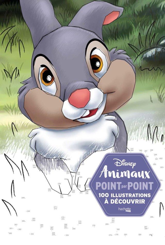 Points à relier Disney Animaux: 6 illustrations à découvrir
