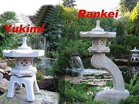 japanische gartendeko japanische steinlaternen rankei & yukimi garten laterne koi teich   stück!!!