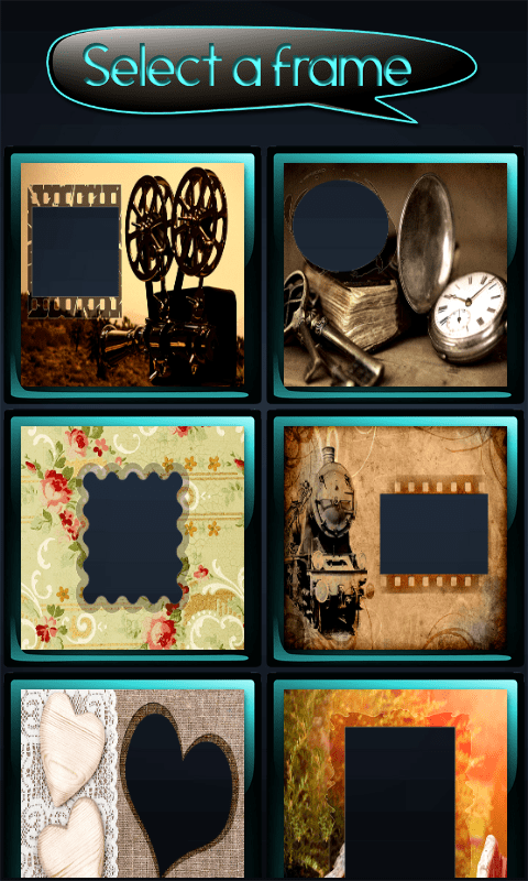 Picture Frames App For Android | secondtofirst.com