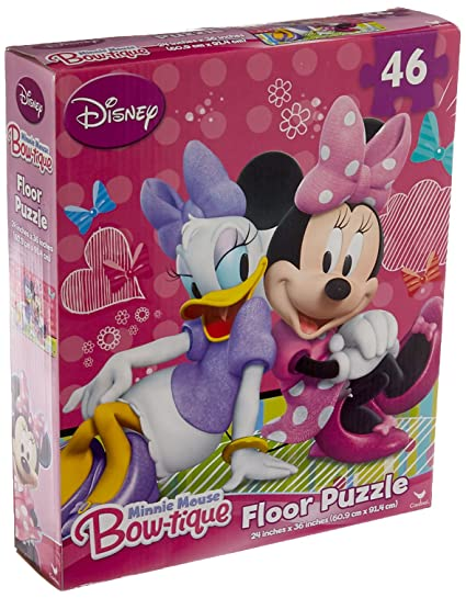 Minnie Mouse  Pieces Floor Puzzle Styles Will Vary