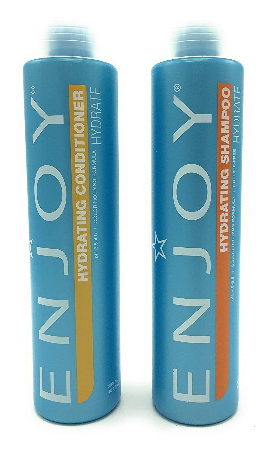 Enjoy Sulfate-free Hydrating Duo (Shampoo and Conditioner) - 10 Oz (packaging may vary)