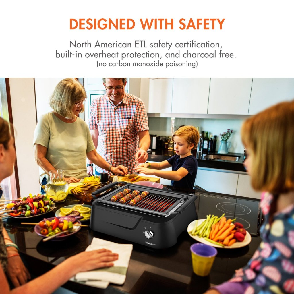 Tenergy Redigrill Review | Smokeless Infrared Grill