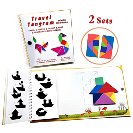 Magnetic Tanagrams