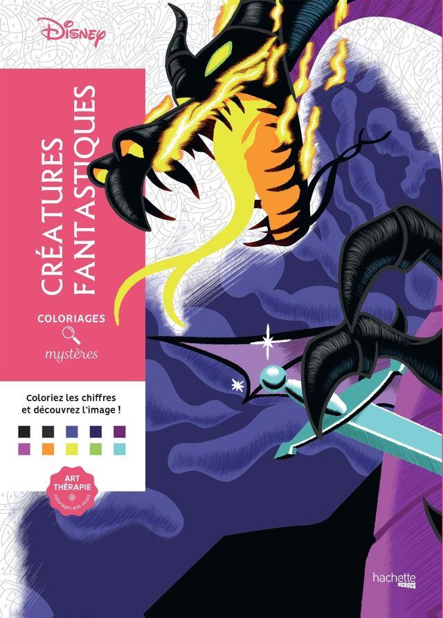 Coloriages mystères Disney Créatures fantastiques: Coloriez les
