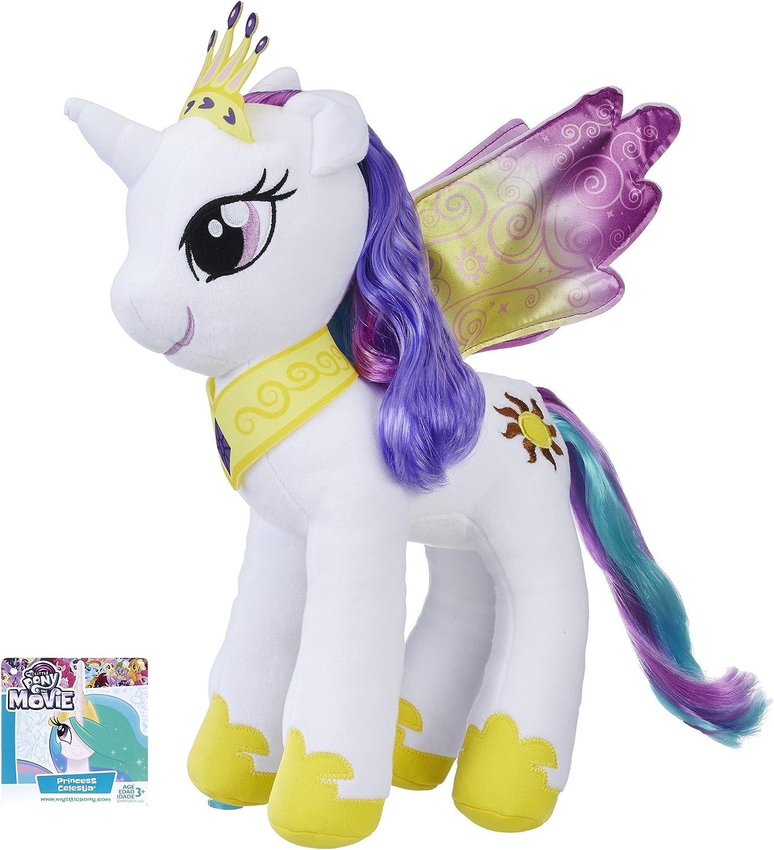 Amazon Com My Little Pony The Movie Princess Celestia Large Soft Plush Toys Games