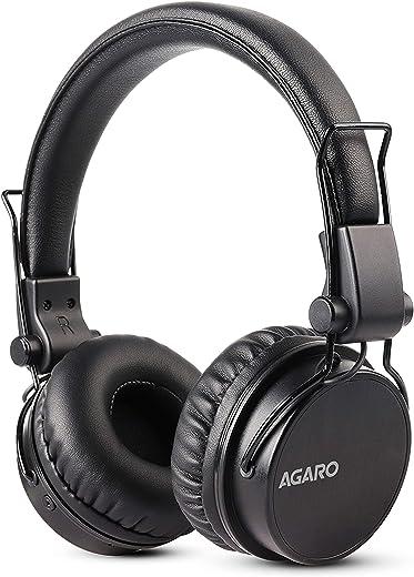 AGARO - 33327 Fusion On-Ear Bluetooth Headphones with Mic (Black)