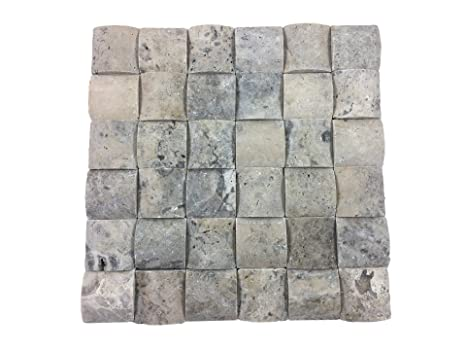 Pietra Naturale Del Mosaico In Marmo Come Un Muro Di Pietra