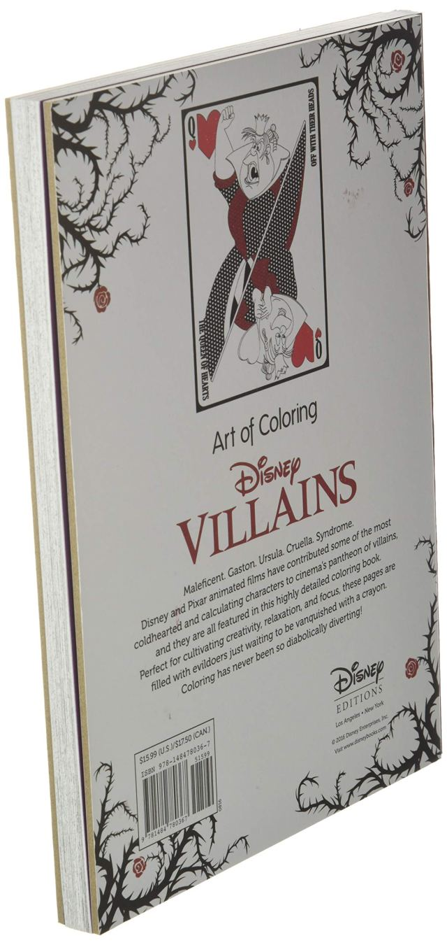 Art of Coloring: Disney Villains: 29 Images to Inspire Creativity