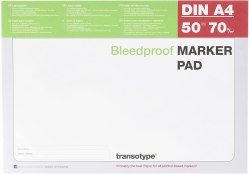 Transotype Bleed Proof Alcohol Marker Pad