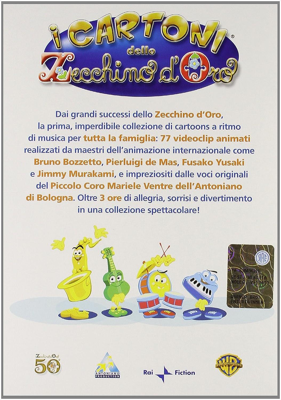 Amazoncom I Cartoni Dello Zecchino Doro 01 06 6 Dvd