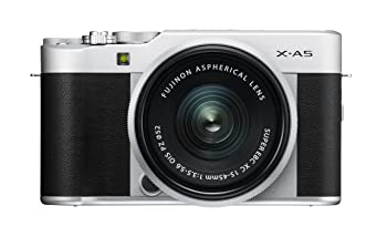 Fujifilm X-A5 Mirrorless Cameras XC15-45mm f3.5-5.6 OIS PZ Lens: