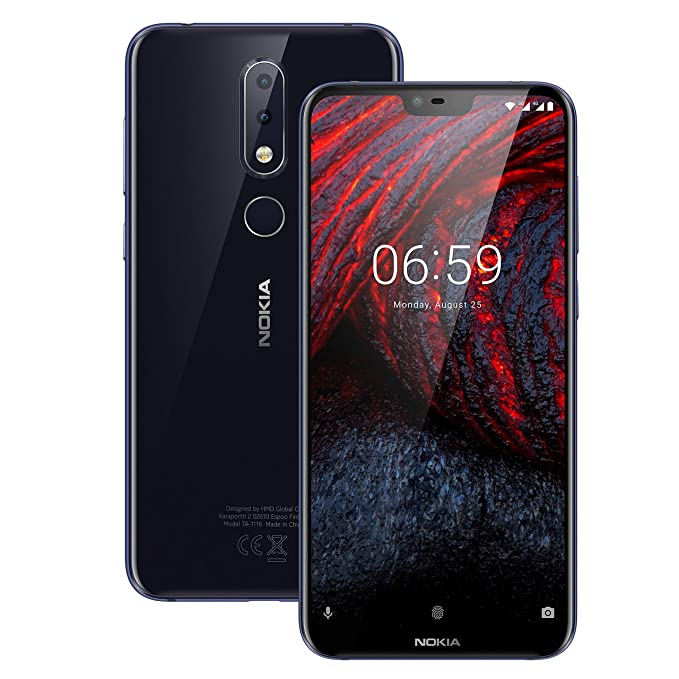 Nokia 6.1 Plus Dual Sim-Blue