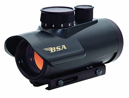Amazon Com Bsa Mm Red Dot Scope With  Moa Airsoft Gun Sights Sports Outdoors