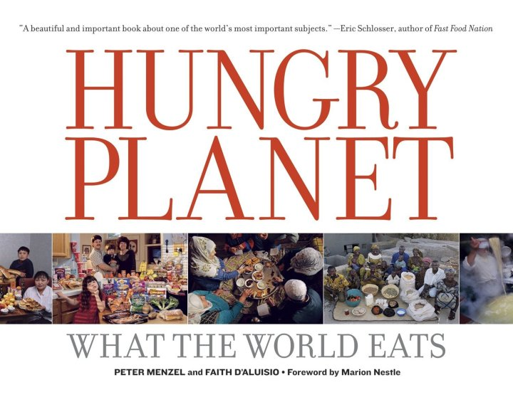 Image result for hungry planet what the world eats