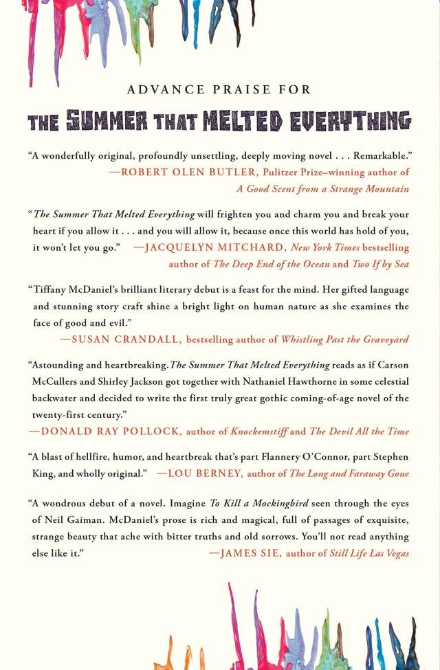 SUMMER THAT MELTED EVERYTHING : Mcdaniel, Tiffany: Amazon.de: Bücher