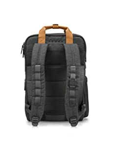 Comfortable shoulder straps and double top handles