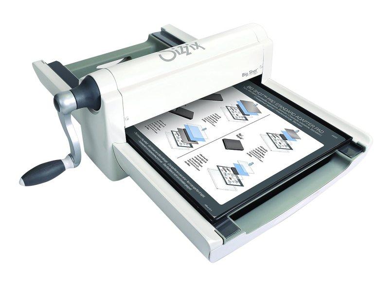 Sizzix Big Shot Pro Machine Only White Gray W Standard Accessories By Ellison L Co Uk Kitchen Home