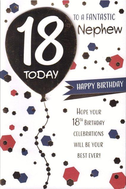 Happy 18th Birthday Nephew Images