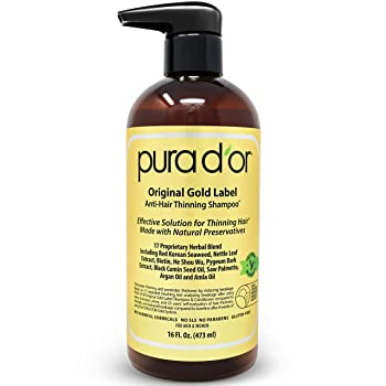 PURA D'OR is best for thinning hair fraction