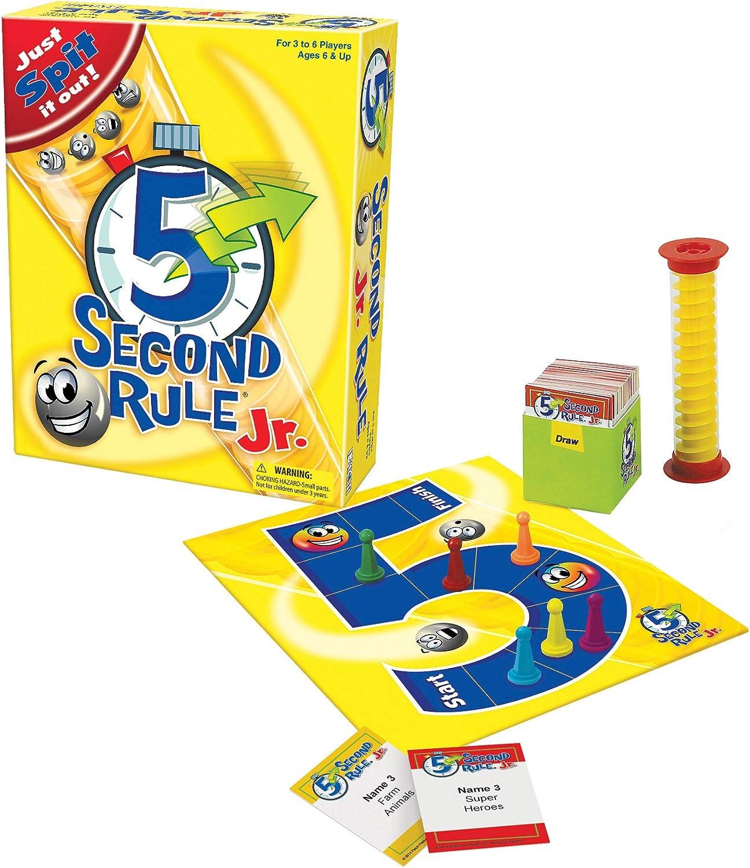 Amazon Com 5 Second Rule Junior Toys Games