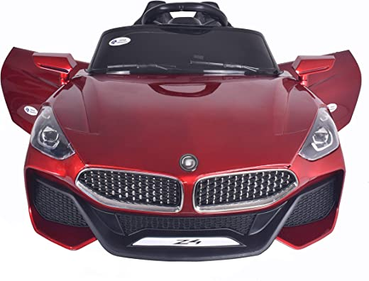 Talreja Enterprises Battery Operated Z4 Ride on Car for Kids, Double Battery Double Motor - Rechargeable (RED)