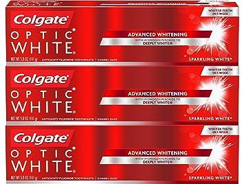 Colgate Optic White Whitening Toothpaste, Sparkling White