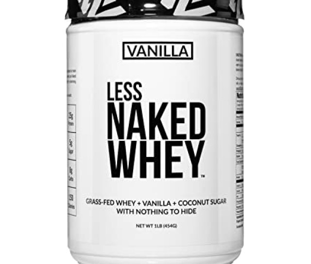 Amazon Com Less Naked Whey Vanilla Protein Lb All Natural