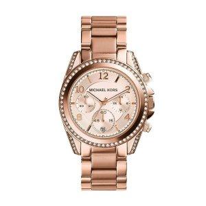 Michael Kors Women's Blair Rose Gold-Tone Watch