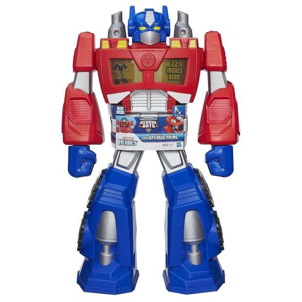Com Playskool Heroes Transformers Rescue Bots Epic Optimus