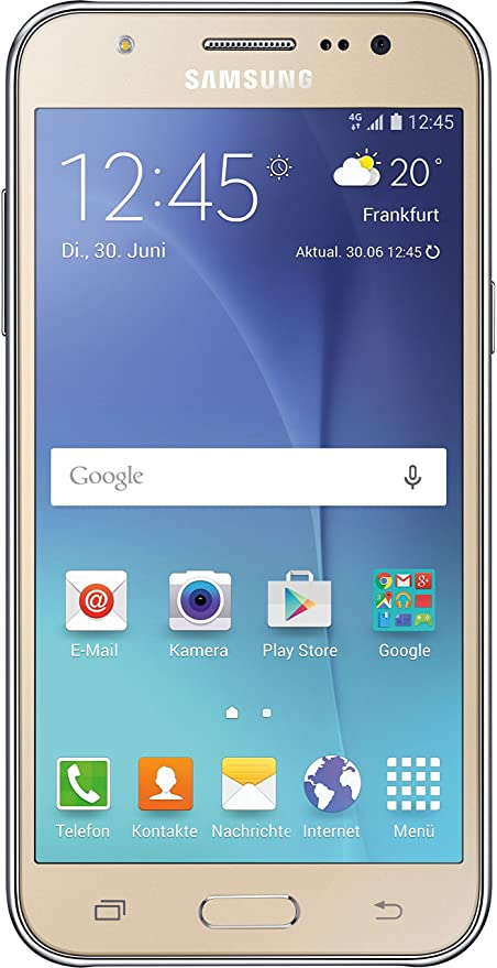 Samsung Galaxy J5 Smartphone 5 Zoll 127 Cm Touch Display 8 Gb Speicher Android 51 Gold