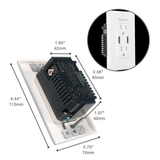 Smart USB Wall Socket