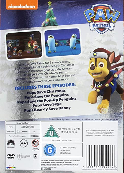 Pups Save Christmas.Paw Patrol Pups Save Christmas Dvd Episodes Thecannonball Org