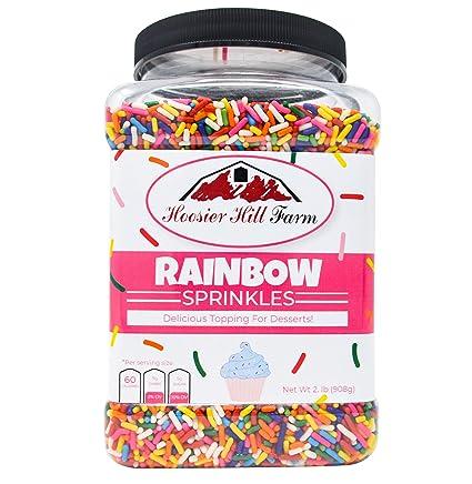 Hoosier Hill Farm Rainbow Sprinkles